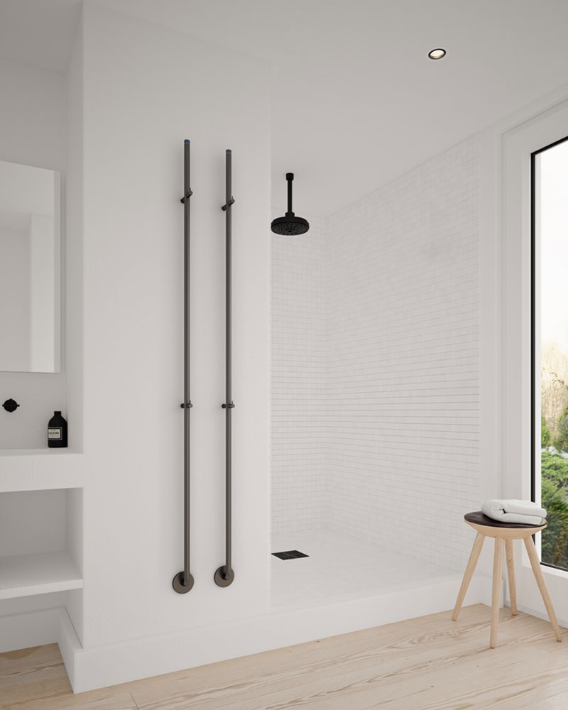 design-radiator-zwart