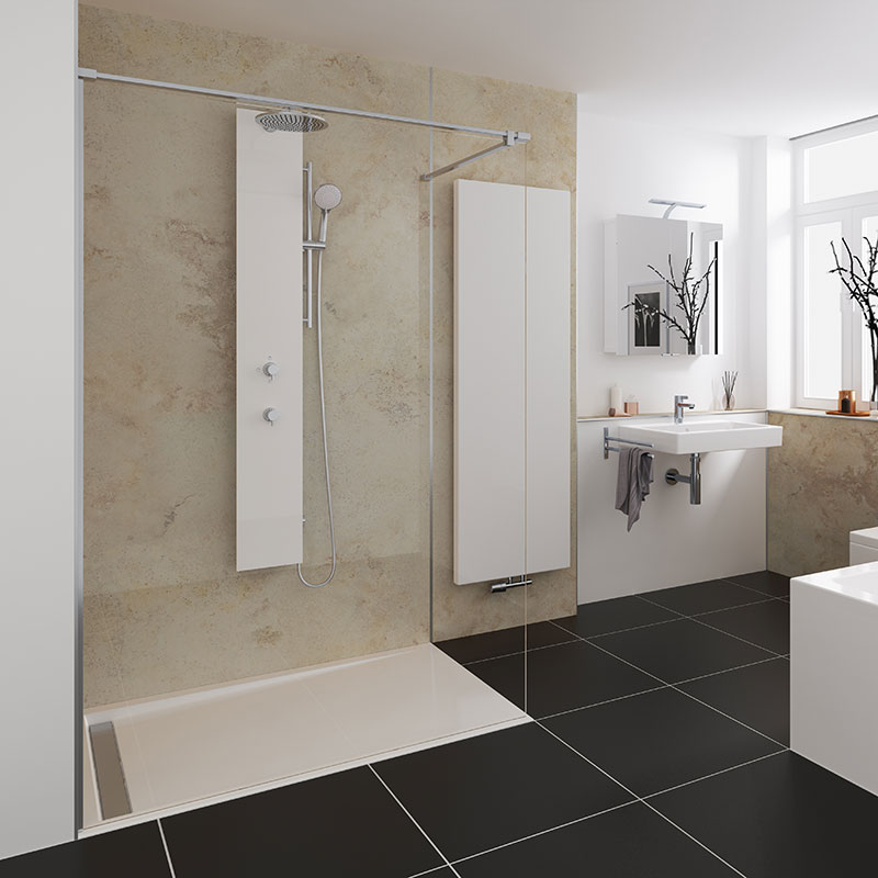 grote inloopdouche badkamer