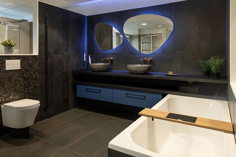 Luxe badkamer led licht